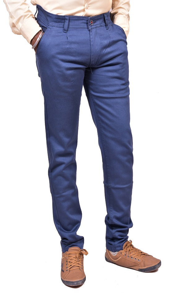 Just Trousers Blue Blue Slim -Fit Flat Jeans