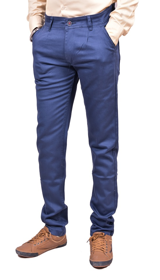 Just Trousers Blue Slim -Fit Flat Jeans